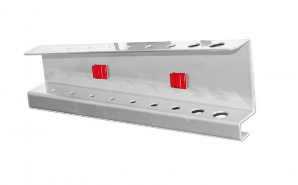 RasterPlan/ABAX Innensechskanthalter, für 9 Schlüssel alufarben.