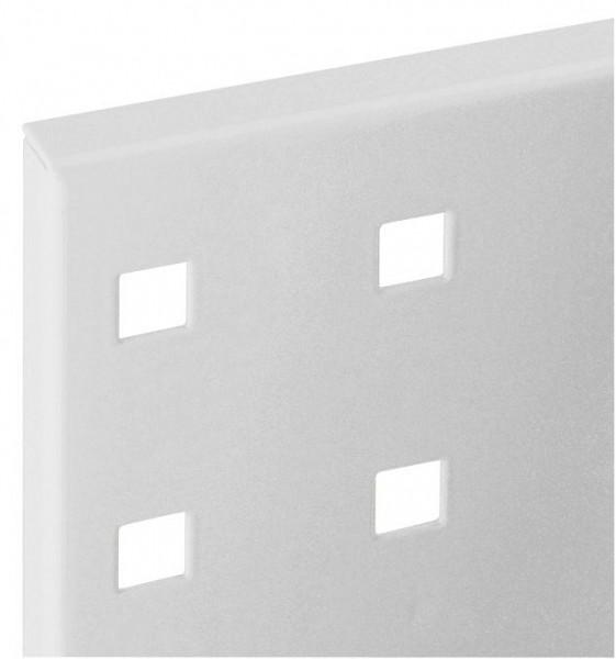 ®RasterPlan Lochplatte B 500 mm x H 450 mm RAL 7035 - Lichtgrau Universell kombinier- und einsetzbar. Kompatibel mit ®RasterPlan Schlitzplatten.