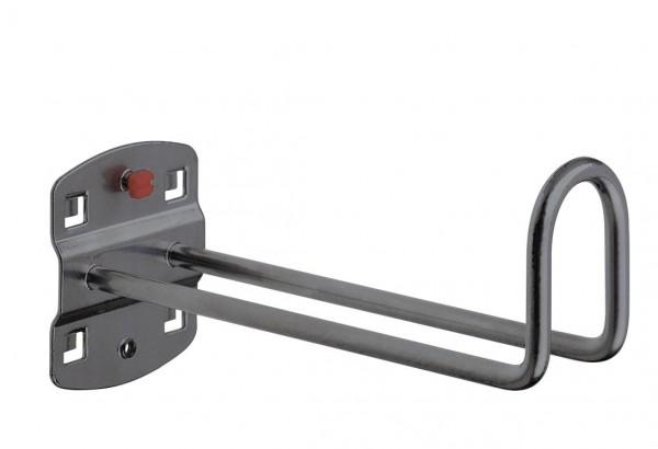 ®RasterPlan Kabelhalter Länge 150 mm / Höhe Hakenende 50 mm Anthrazitgrau
