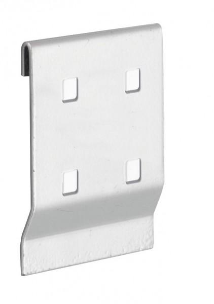 ®RasterPlan Adapter für Lochplatten-Werkzeughalter an Schlitzplatte, alufarben.