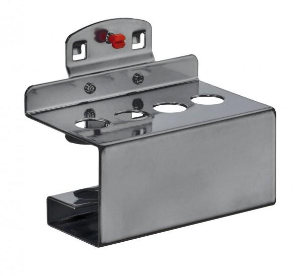 RasterPlan Stifthalter anthrazitgrau, für 4 Stifte B 112 mm Ø 4 x 17mm.