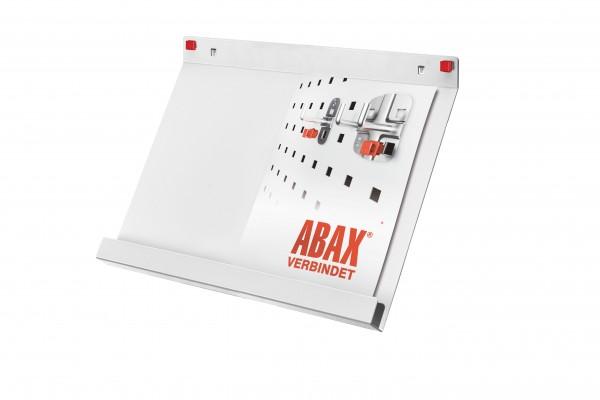 RasterPlan/ABAX Prospekthalter DIN A 3, lichtgrau.