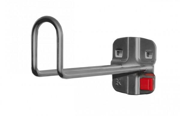 RasterPlan/ABAX Kabelhalter anthrazitgrau, L 150 mm.