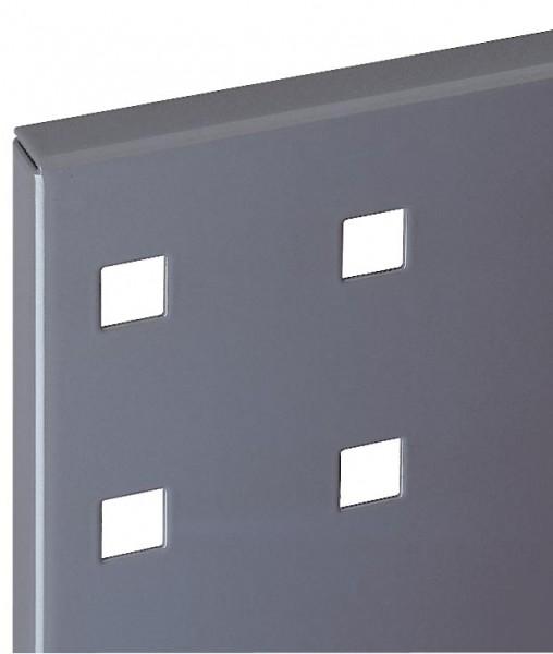 ®RasterPlan Lochplatte B 500 mm x H 450 mm RAL 7015 - Schiefergrau Universell kombinier- und einsetzbar. Kompatibel mit ®RasterPlan Schlitzplatten.