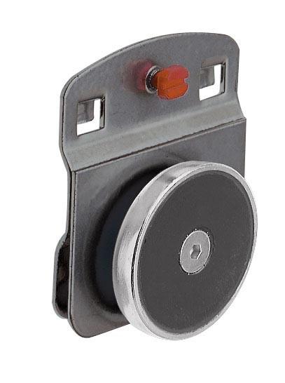 ®RasterPlan Magnethalter Durchmesser 40 mm Anthrazitgrau
