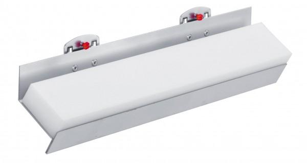 ®RasterPlan Werkzeugaufnahme zum Selbstbohren Breite 390 mm x Tiefe 55 mm Alufarben