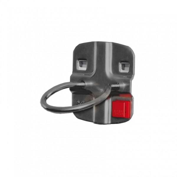 ®RasterPlan/ABAX® Maschinenhalter Durchmesser 80 mm Anthrazitgrau
