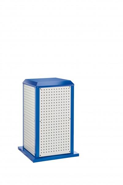 RasterPlan Tool Tower klein Mod 1, stationär, RAL 7035/5010. 4 LP aussen klein.