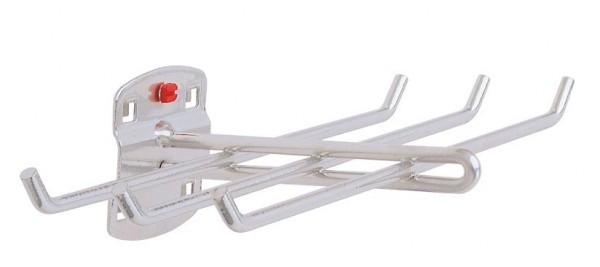 RasterPlan Werkzeughalter 6-fach ., B240 x L140 mm, alufarben.