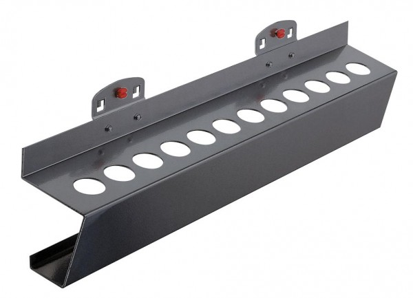 RasterPlan Werkzeughalter für MK2, B395 x T60 mm, anthrazitgrau.