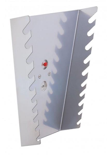 ®RasterPlan Ringschlüsselhalter, senkrecht Für 10 Schlüssel Alufarben