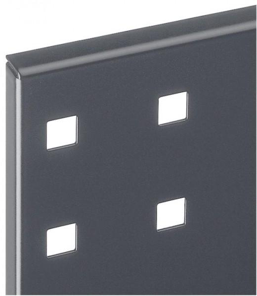 ®RasterPlan Lochplatte B 1500 mm x H 450 mm RAL 7016 - Anthrazitgrau Universell kombinier- und einsetzbar. Kompatibel mit ®RasterPlan Schlitzplatten.