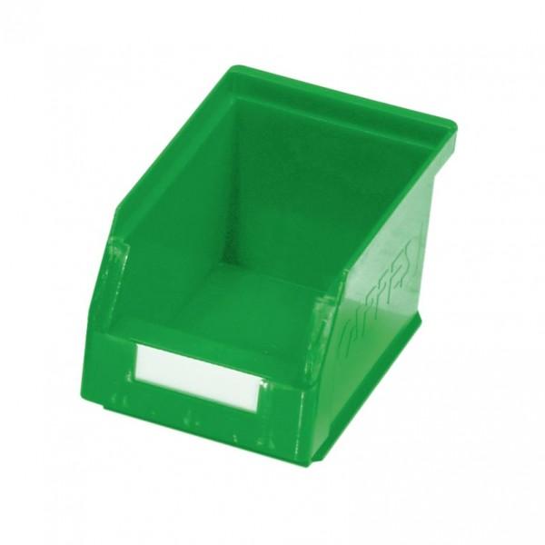 RasterPlan Lagersichtkasten Gr. 6 grün, 230 x 140 x 130 mm.