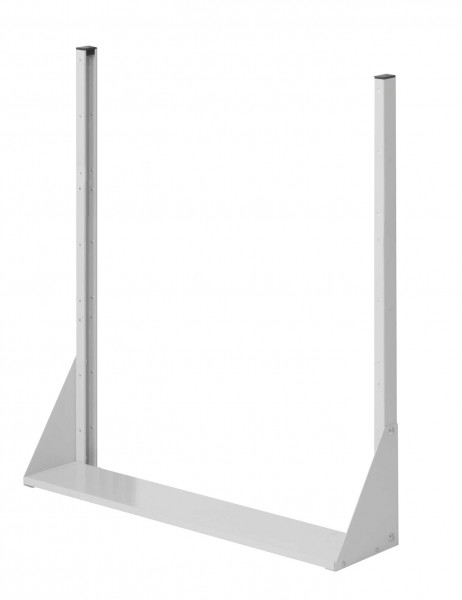 ®RasterPlan Stellwand Standmodul Gr. 3, H1100 x B1000 x T240 mm, RAL 7035. Einseitig, ohne Platten.