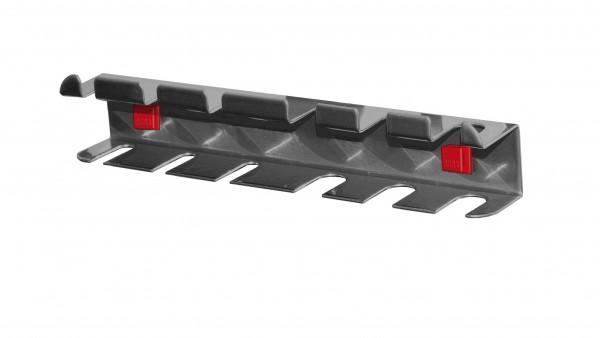 RasterPlan/ABAX Schraubendreherhalter, für 6 Teile anthrazitgrau.