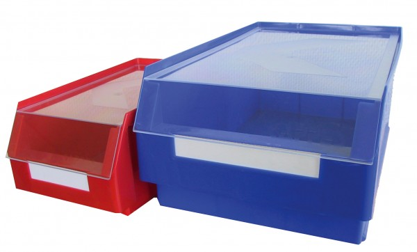 RasterPlan Auflagedeckel LSK Gr. 7, glasklar Polystyrol 160 x 105 mm.