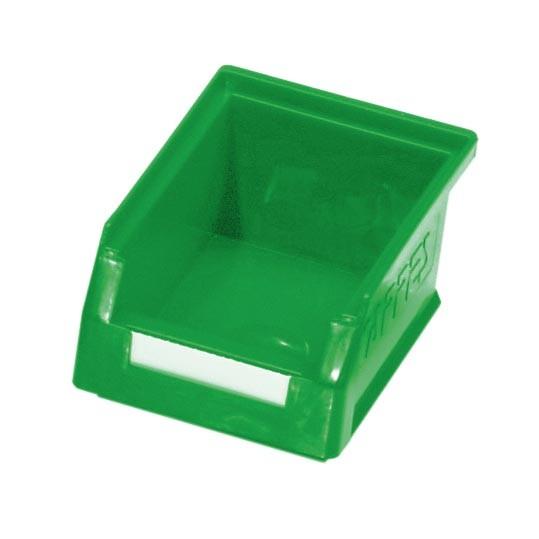 RasterPlan Lagersichtkasten Gr. 7 grün, 160 x 105 x 75 mm.