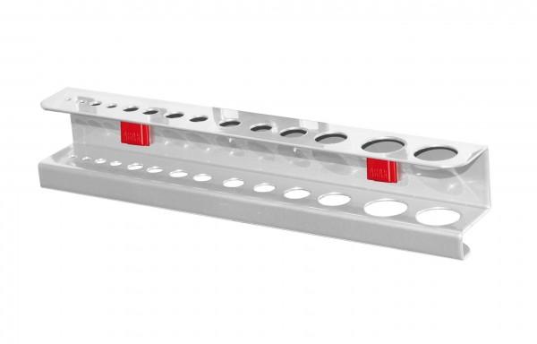 ®RasterPlan/ABAX® Bohrer- / Innensechskanthalter Für 28 Teile Alufarben