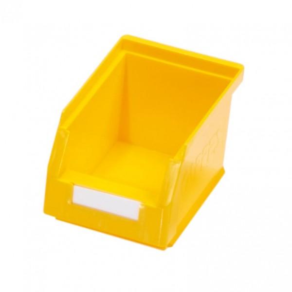 RasterPlan Lagersichtkasten Gr. 6 gelb, 230 x 140 x 130 mm.