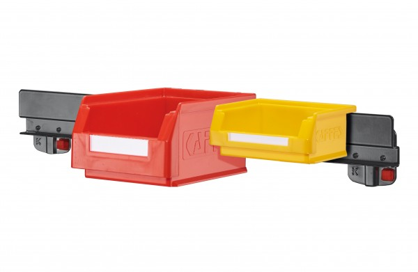 ®RasterPlan/ABAX® Lagersichtkastenhalter Für 5 Kästen der Kastengröße 7 und 8 Anthrazitgrau