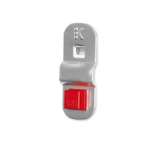 ®RasterPlan/ABAX® Grundplatte, klein Breite 25 mm Alufarben
