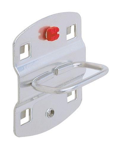 ®RasterPlan Zangenhalter Breite 40 mm x Tiefe 50 mm Alufarben