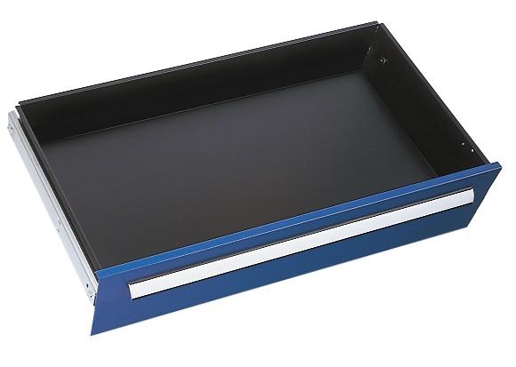 Schublade RAL 5010 H175 mm, Breite 1000 mm,Vollauszug.