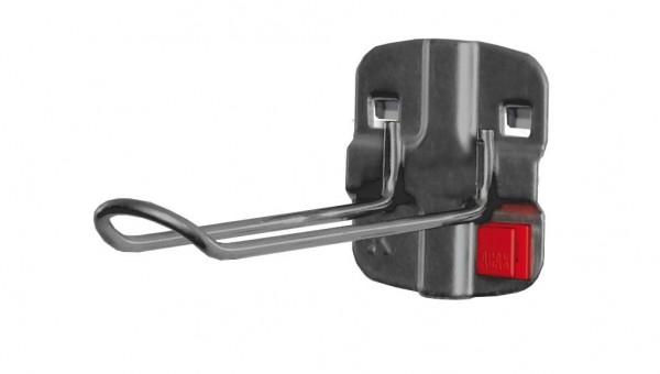 RasterPlan/ABAX Werkzeughalter für SB-Ver-, packungen anthrazitgrau L125 x B 30 mm,.