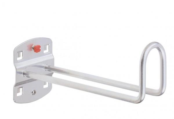 RasterPlan Kabelhalter alufarben, L 150 mm.
