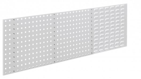 ®RasterPlan Kombiplatte RAL 7035, B1500 x H450 mm. 1/3 SP 2/3 LP.