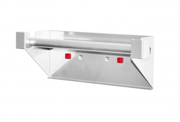 RasterPlan/ABAX Abrollhalter alufarben