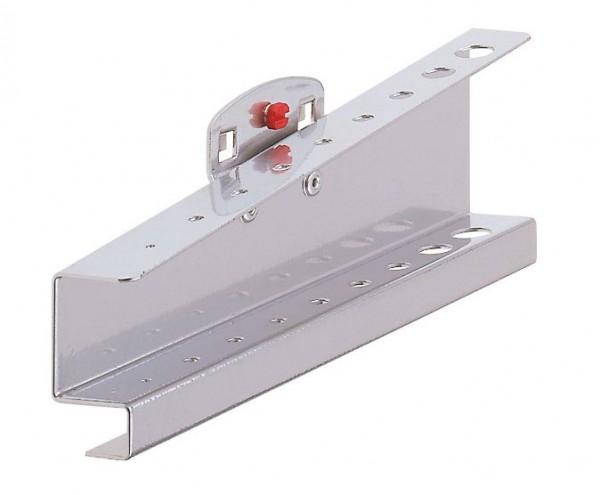 RasterPlan Innensechskanthalter, für 9 Schlüssel alufarben.