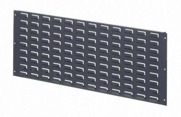 ®RasterPlan Modulschlitzplatte RAL 7016, H 343 x B 1000 mm.