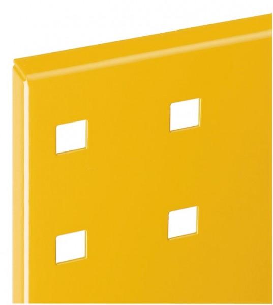 ®RasterPlan Lochplatte B 1000 mm x H 450 mm RAL 1006 - Maisgelb Universell kombinier- und einsetzbar. Kompatibel mit ®RasterPlan Schlitzplatten.