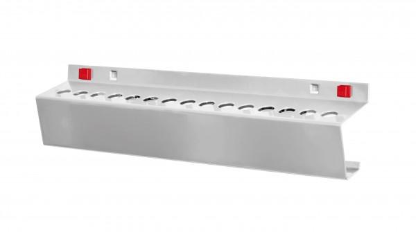 ®RasterPlan/ABAX® Werkzeughalter für MK-2 15 x Durchmesser 17 mm Alufarben