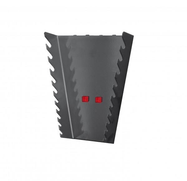 RasterPlan/ABAX Ringschlüsselhalter senkr., anthrazitgrau.