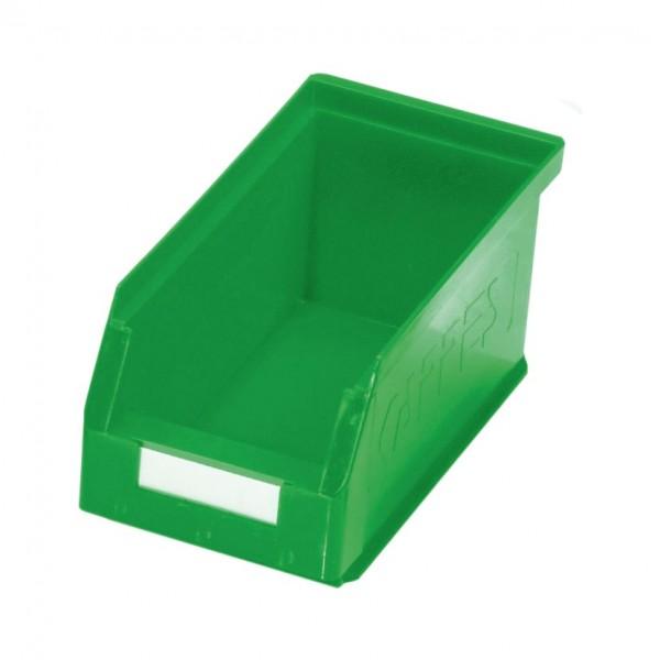 RasterPlan Lagersichtkasten Gr. 5 grün, 290 x 140 x 130 mm.