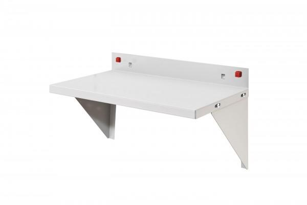 ®RasterPlan/ABAX® Stahlboden / Ablage Breite 435 mm x Tiefe 250 mm RAL 7035 - Lichtgrau
