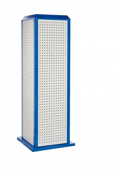 RasterPlan ToolTower groß Mod 1, stationär, RAL 7035/5010. 4 LP außen groß.