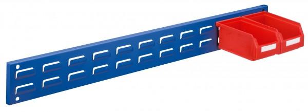 RasterPlan Wandschiene Schlitzplatte, L 920 x H 100 mm. RAL 5010.