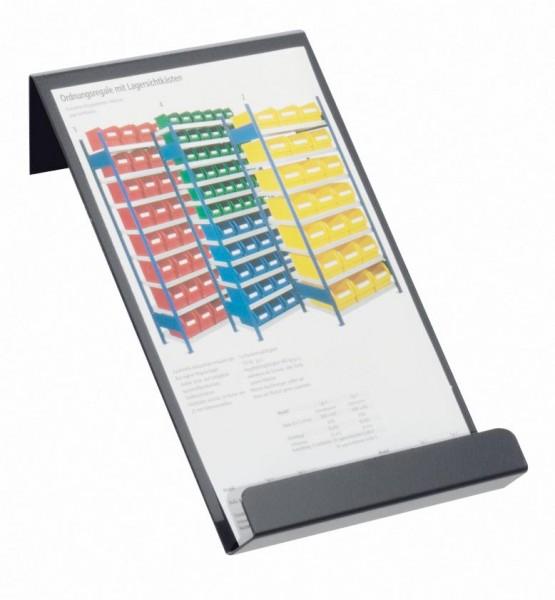 ®RasterPlan Prospekthalter DIN A4 Breite 220 mm x Höhe 310 mm Anthrazitgrau