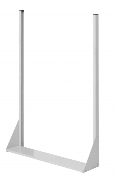 RasterPlan Stellwand Standmodul Gr. 4, H1450 x B1000 x T240 mm, RAL 7035. Einseitig, ohne Platten.