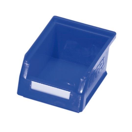 RasterPlan Lagersichtkasten Gr. 7 blau, 160 x 105 x 75 mm.