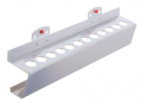 RasterPlan Werkzeughalter für MK 3, B395 xT60 mm, alufarben.