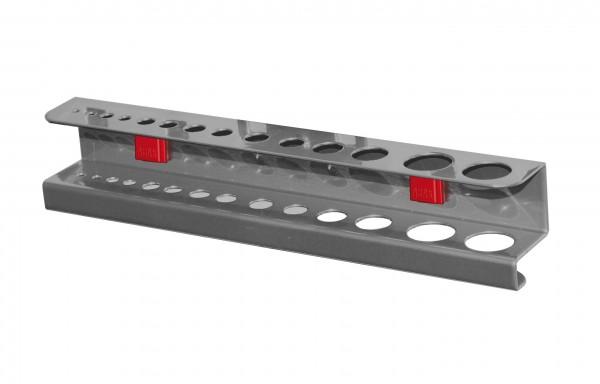 RasterPlan/ABAX Bohrer-/ Innensechskanthalter, für 28 Teile anthrazitgrau.