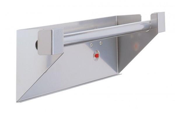 ®RasterPlan Abrollhalter Breite 355 mm x Tiefe 100 mm x Höhe 120 mm Alufarben