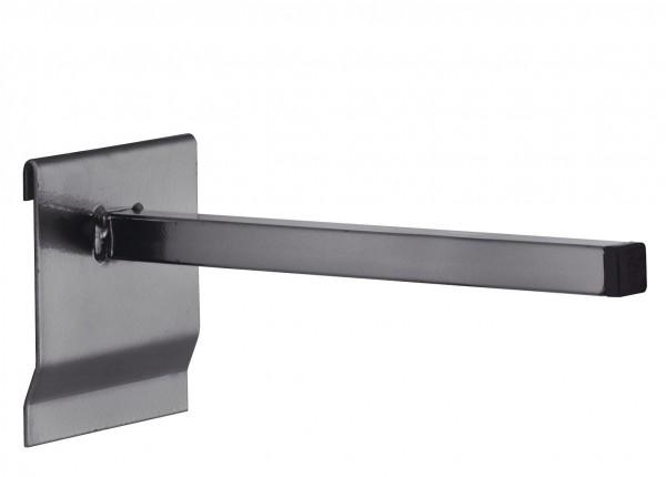 RasterPlan Universalhalter vierkant, 200 mm, anthrazitgrau.