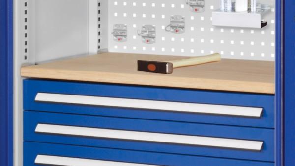 Werkbankplatte für Breite 1000, Tiefe 600 mm. incl. Aufnahme.