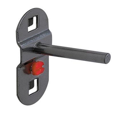 RasterPlan Werkzeughalter gerader Dorn, 50 mm, lang anthrazitgrau.