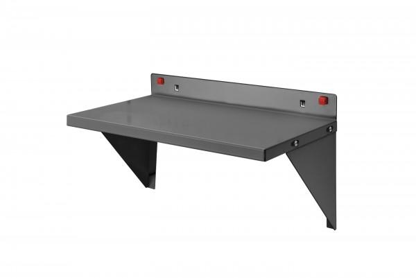 RasterPlan/ABAX Stahlboden / Ablage, 435 x 250 mm, anthrazitgrau.